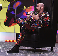"""LOS ANGELES - JANUARY 25: Tyson Fury attends a Los Angeles press conference on January 25, 2020 for the """"Wilder vs Fury II"""" FOX SPORTS PPV & ESPN+ PPV which will take place on Feb. 22 from the MGM Grand Garden Arena in Las Vegas. (Photo by Frank Micelotta/Fox Sports/PictureGroup)"""