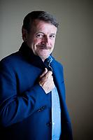 Giacomo Poretti, all'anagrafe Giacomino Poretti, è un comico, attore e sceneggiatore italiano componente  del trio comico Aldo, Giovanni e Giacomo. Pordenone, 16 settembre 2021. Photo by Leonardo Cendamo/Getty Images