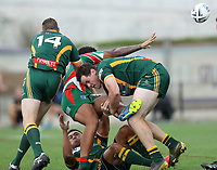 The Wyong Roos play West Rosella in the Tooheys Newcastle Rugby League Reserve Grade Grand Final at Maitland Sportsground on 18th of October, 2020 in Maitland, NSW Australia. (Photo by Paul Barkley/LookPro)
