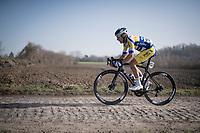 Kenny De Ketele (BEL/Sport Vlaanderen - Baloise)<br /> <br /> 53rd Le Samyn 2021<br /> ME (1.1)<br /> 1 day race from Quaregnon to Dour (BEL/205km)<br /> <br /> ©kramon