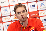 Spain's basketball player Paul Gasol in press conference. August 04, 2015. (ALTERPHOTOS/Acero)