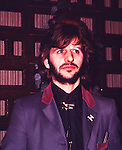 Beatles 1972 Ringo Starr at 'Born To Boogie' premiere.© Chris Walter.