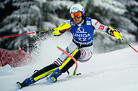 29th December 2020; Semmering, Austria; FIS Womens Giant Slalom World Cup Skiing; Nastasia Noens of France during her 1st run of women Slalom competition of FIS ski alpine world cup at the Panoramapiste in Semmering