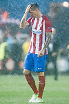 Fernando Torres of Atletico de Madrid reacts during their 2016-17 UEFA Champions League Semifinals 2nd leg match between Atletico de Madrid and Real Madrid at the Estadio Vicente Calderon on 10 May 2017 in Madrid, Spain. Photo by Diego Gonzalez Souto / Power Sport Images