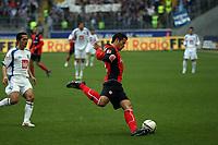 Aaron Galindo (Eintracht) klaert<br /> Eintracht Frankfurt vs. VfL Bochum, Commerzbank Arena<br /> *** Local Caption *** Foto ist honorarpflichtig! zzgl. gesetzl. MwSt. Auf Anfrage in hoeherer Qualitaet/Aufloesung. Belegexemplar an: Marc Schueler, Am Ziegelfalltor 4, 64625 Bensheim, Tel. +49 (0) 6251 86 96 134, www.gameday-mediaservices.de. Email: marc.schueler@gameday-mediaservices.de, Bankverbindung: Volksbank Bergstrasse, Kto.: 151297, BLZ: 50960101