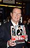 Roger Moore Book Signing for Bond On Bond Nov 9, 2012