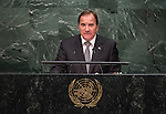 Statement <br /> by His Excellency Stefan Löfven, Prime Minister of the Kingdom of Swede