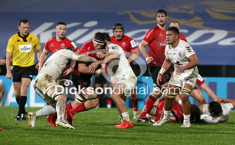 11 December 2020; Matty Rea during the Heineken Champions Cup Pool B Round 1 match between Ulster and Toulouse at Kingspan Stadium in Belfast. Photo by John Dickson/Dicksondigital