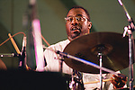 Carl Allen, Aug 1991 : Carl Allen performing in Tokyo, Japan.