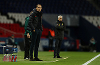 Paris St Germain coach Thomas Tuchel as Borussia Dortmund coach Lucien Favre looks on   <br /> Photo Pool/Panoramic/Insidefoto