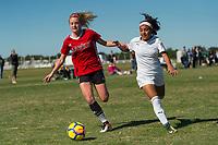 Lakewood Ranch, FL - Sunday Dec. 10, 2017: Alexa Spaanstra (7) during the 2017 Development Academy Winter Showcase & Nike International Friendlies at Premier Sports Campus at Lakewood Ranch, FL.