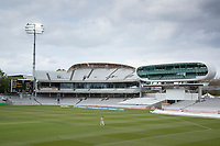 A shot from the Tavern stand showing the new construction by the Media centre during Middlesex CCC vs Gloucestershire CCC, LV Insurance County Championship Group 2 Cricket at Lord's Cricket Ground on 7th May 2021