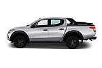 Car driver side profile view of a 2018 Fiat Fullback Cross Techno 4 Door Pick Up