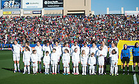 Frisco, Texas - February 11, 2012: The USWNT defeated New Zealand 2-1 at Pizza Hut Park.