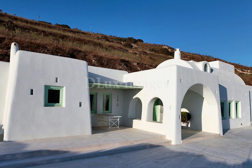 Cycladic white house