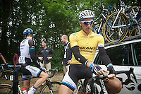 Marcel Kittel (DEU/Giant-Shimano) before the start<br /> <br /> Ster ZLM Tour<br /> stage 3: Buchten-Buchten (190km)