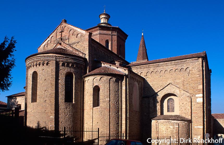 Italien, Piemont, Dom Santa Maria Assunta , romanische Apsiden 11.Jh, in Acqui Terme