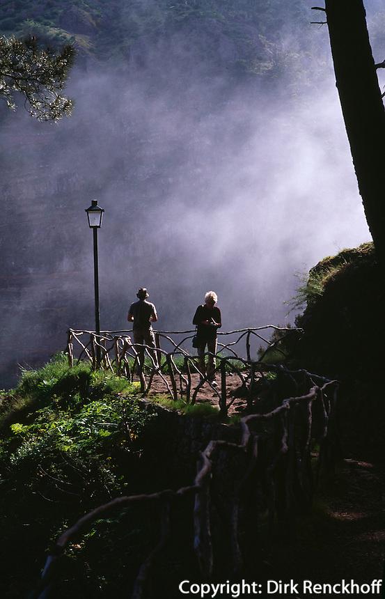 Portugal, Madeira, bei Curall das Freiras