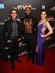 Sam Lips, Taureen Everett and Alena Watters Attends the After Party for the Broadway Opening Night  of 'The Cher Show' at Pier 60 on December 3, 2018 in New York City.