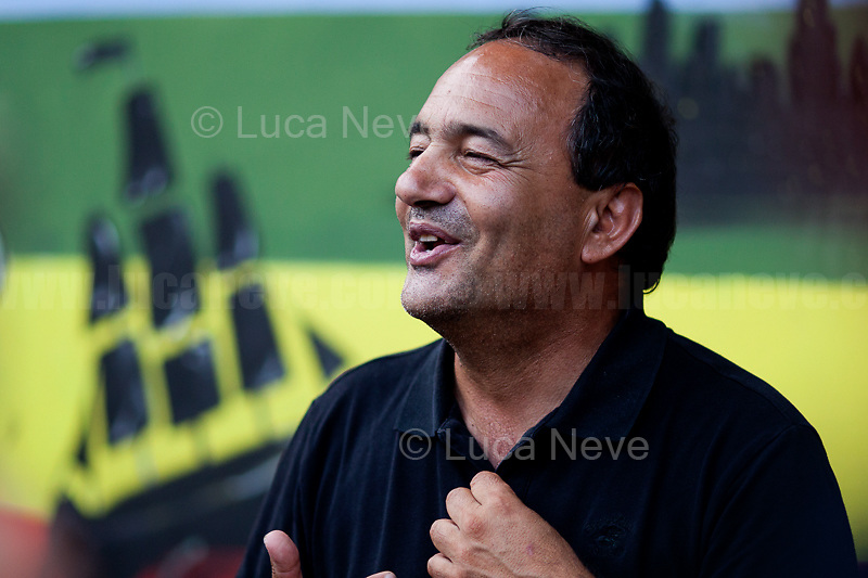 """Domenico """"Mimmo"""", Mayor and Activist.<br /> <br /> Rome, 01/05/2019. This year I will not go to a MayDay Parade, I will not photograph Red flags, trade unionists, activists, thousands of members of the public marching, celebrating, chanting, fighting, marking the International Worker's Day. This year, I decided to show some of the Workers I had the chance to meet and document while at Work. This Story is dedicated to all the people who work, to all the People who are struggling to find a job, to the underpaid, to the exploited, and to the people who work in slave conditions, another way is really possible, and it is not the usual meaningless slogan: MAKE MAYDAY EVERYDAY!<br /> <br /> Happy International Workers Day, long live MayDay!"""