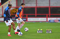 Training water bottles with new sponsors logo<br /> <br /> Photographer Dave Howarth/CameraSport<br /> <br /> EFL Trophy Northern Section Group G - Accrington Stanley v Blackpool - Tuesday 6th October 2020 - Crown Ground - Accrington<br />  <br /> World Copyright © 2020 CameraSport. All rights reserved. 43 Linden Ave. Countesthorpe. Leicester. England. LE8 5PG - Tel: +44 (0) 116 277 4147 - admin@camerasport.com - www.camerasport.com