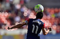 Houston, TX - Sunday Oct. 09, 2016: Ali Krieger during a National Women's Soccer League (NWSL) Championship match between the Washington Spirit and the Western New York Flash at BBVA Compass Stadium.