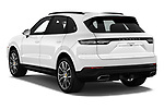 Car pictures of rear three quarter view of a 2020 Porsche Cayenne Base 5 Door SUV angular rear