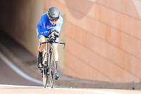 9th September 2021; Trento, Trentino–Alto Adige, Italy: 2021 UEC Road European Cycling Championships, Womens Individual time trials:  GAFINOVITZ Rotem (ISR)