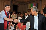 ANTONIO PENNACCHI  E FRANCESCO RUTELLI<br /> SERATA FINALE PREMIO STREGA     ROMA 2010
