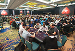 A view of the tournament area at the start of Day 2.