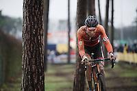 Mathieu Van der Poel (NLD/BKCP-Corendon)<br /> <br /> Men's Elite Race<br /> <br /> UCI 2016 cyclocross World Championships,<br /> Zolder, Belgium