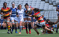 Action from the Farah Palmer Cup women's rugby union match between Auckland Storm and Waikato at Eden Park in Auckland, New Zealand on Sunday, 18 October 2020. Photo: Dave Lintott / lintottphoto.co.nz