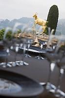 Europe/France/Provence-Alpes-Côte d'Azur/06/Alpes-Maritimes/ Eze-Village: Restaurant: La Chèvre d'Or