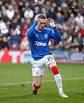 26.01.2020 Hearts v Rangers: Ryan Kent misses