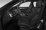 Front seat view of 2021 BMW 5-Series 530e-Edition-M-Sport 4 Door Sedan Front Seat  car photos