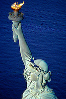 "JP0581 ""Statue Of Liberty Enlightening The World - Torch, Arm, Head & Crown #1 - 4/25/95 - New York NY""..JP0581 ""Statue Of Liberty Torch, Arm, Head & Crown #1"