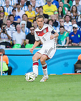 Rio de Janeiro, Brazil - Sunday, July 13, 2014: Germany defeated Argentina 1-0 in extra time to win the 2014 World Cup Final match at Estádio Maracanã.