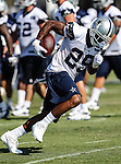Dallas Cowboys running back DeMarco Murray (29) in action at the Dallas Cowboys 2012 Training Camp which was held at the Marriott Resident Inn football fields in Oxnard, CA.