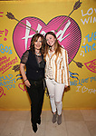 Kathy Valentine and daughter attends the Opening Night Performance After Party for  'Head Over Heels' at Gustavino's  on July 26, 2018 in New York City.
