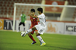 Oman vs Myanmar during the 2014 AFC U-22 Championship Group Stage A match on January 11, 2014 at the Sultan Qaboos Sports Complex in Muscat, Oman. Photo by World Sport Group
