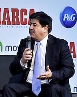 BOGOTA - COLOMBIA - 07 - 05 - 2013: Luis Bedoya, Presidente de la Federacion  Colombiana de futbol durante Foro en Bogota, mayo 7 de 2013.  El diario Marca Colombia, en su lanzamiento realizo el I FORO COLOMBIA Y ESPAÑA, RUMBO AL MUNDIAL BRASIL2014, (Foto. VizzorImage / Luis Ramirez / Staff). Angel Maria Villar, President of the Colombian Football Federation during a Forum in Bogota, May 7, 2013. The newspaper Marca Colombia, at launch I performed the FORUM COLOMBIA AND SPAIN, WAY TO WORLD BRASIL 2014, (Photo. VizzorImage / Luis Ramirez / Staff).