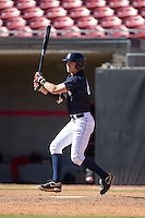 Pete Nielsen (64) of James Madison High School in Vienna, Virginia playing for the New York Yankees scout team at the South Atlantic Border Battle at Doak Field on November 2, 2014.  (Brian Westerholt/Four Seam Images)