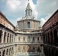 Sant'Ivo alla Sapienza, Roman Catholic church in Rome. Built in 1642-1660 by the architect Francesco Borromini.