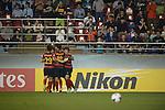 Pohang Steelers vs Jeonbuk Hyundai Motors during the 2014 AFC Champions League Round of 16 2nd Leg match on May 13, 2014 at the International Stadium Yokohama in Yokohama, Japan. Photo by World Sport Group