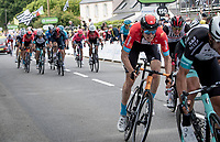 Jack Haig (AUS/Bahrain Victorious) finishing the first stage<br /> <br /> Stage 1 from Brest to Landerneau (198km)<br /> 108th Tour de France 2021 (2.UWT)<br /> <br /> ©kramon