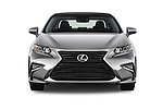 Car photography straight front view of a 2017 Lexus ES 350 4 Door Sedan 2WD Front View