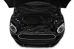 Car stock 2018 Mini Countryman Oakwood 5 Door Hatchback engine high angle detail view