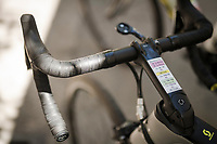 Team Mitchelton-Scott at the race start in Vasto<br /> <br /> Stage 7: Vasto to L'Aquila (180km)<br /> 102nd Giro d'Italia 2019<br /> <br /> ©kramon