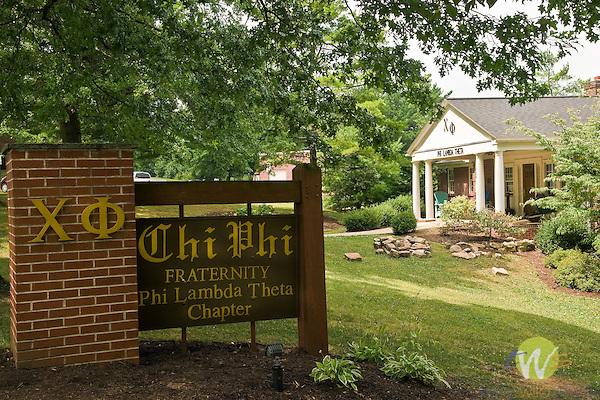 Chi Phi Fraternity House. Phi Lamda Theta Chapter. Bucknell University, Lewisburg, PA.