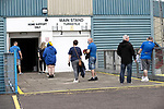 St Johnstone v Preston North End…13.07.21  McDiarmid Park<br />Fans arrive at McDiarmid Park for the first time in 15 months<br />Picture by Graeme Hart.<br />Copyright Perthshire Picture Agency<br />Tel: 01738 623350  Mobile: 07990 594431